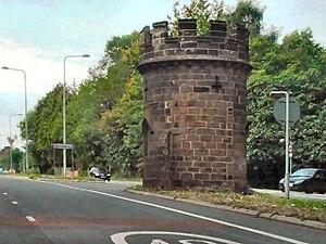 Cuddington, Eddisbury - Image: Round Tower, Sandiway