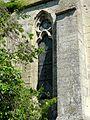 Rousseloy (60), église Saint-Martin, fenêtre méridionale de la 1ère travée du chœur.jpg