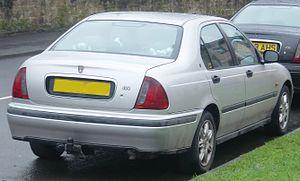 Rover 400 / 45 - Rover 400 saloon rear