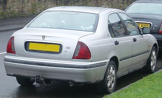 Rover 400 / 45 - Rover 400 saloon (rear)
