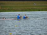 Rowing at the 2012 Summer Olympics – Men's coxless pair Final A (2).JPG