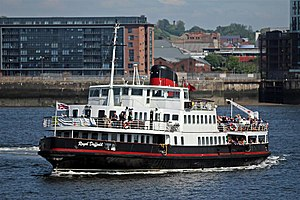 MV Royal Daffodil - Image: Royal Daffodil, River Mersey (geograph 2975347)