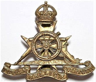 Royal Malta Artillery - Cap badge