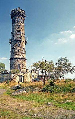 Děčínský Sněžník - View tower
