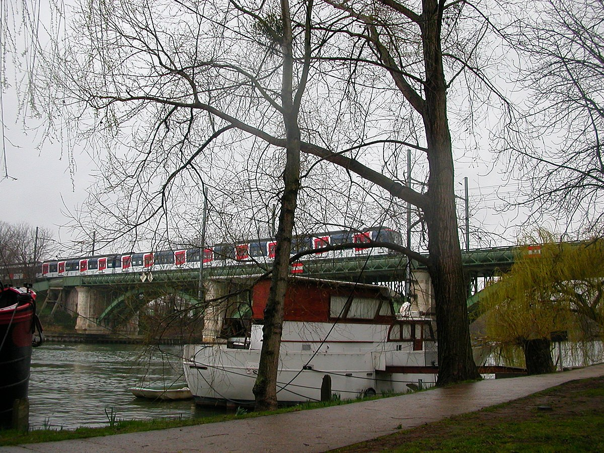 Pont ferroviaire de chatou wikip dia - Office de tourisme de rueil malmaison ...