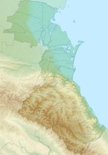 Makhachkala is in the Republic of Dagestan, Russia, on the Caspian Sea