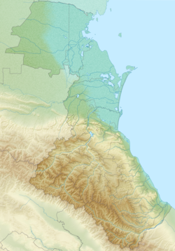 Russia Dagestan relief location map.png