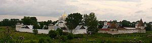 Eudoxia Lopukhina - Convent of the Intercession where Eudoxia was incarcerated for twenty years