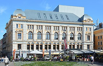 Russians in Latvia - Mikhail Chekhov Riga Russian Theatre founded in 1883
