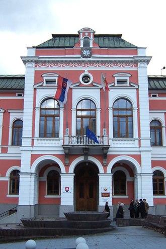 Ružomberok - Town hall of Ružomberok
