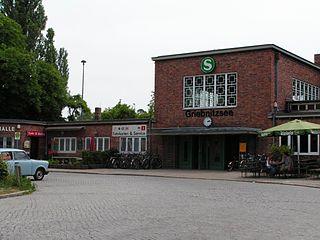 railway station in Potsdam, Germany