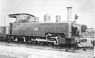 South African Class NG4 4-6-2T - Image: SAR Class NG4 16 (4 6 2T)