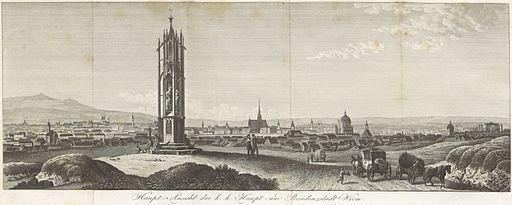 SICKINGEN(1832) p1.006 Hauptansicht der k. und k. Haupt- und Residenzstadt Wien