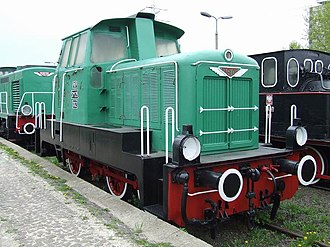 PKP class SM25 - SM25-002 at the Warsaw Railway Museum.