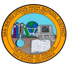 Logo for the San Mateo Union High School District