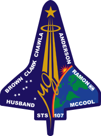STS-107 Flight Insignia.svg