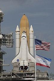 STS-129 Atlantis Launch Pad 39A Rollout