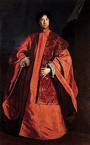 Sebastiano Bombelli - Image: S Bombelli Retrato del procurador Francesco Querini 1669 Fondazione Querini Stampalia Venecia