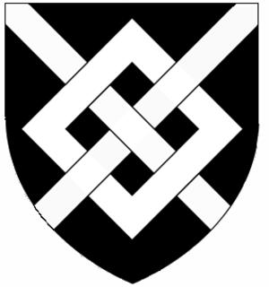 John Harington, 2nd Baron Harington - Image: Sable A Fret Argent