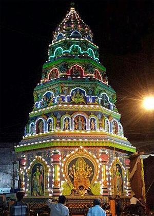 Sagara, Karnataka - Sagar Marikamba Temple