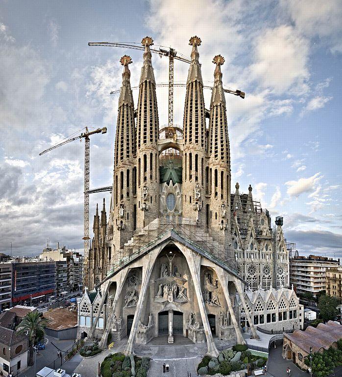 Archivo:Sagrada Família. Façana de la Passió.jpg ...