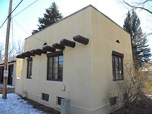 Saguache, Colorado - Saguache Ranger House - Circa 1939