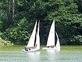 Sailing on Shearwater, Crockerton - geograph.org.uk - 1388332.jpg