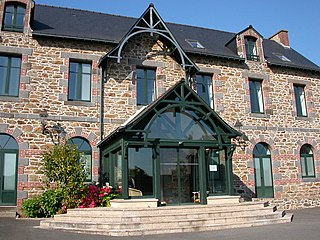 Saint-Coulomb Commune in Brittany, France