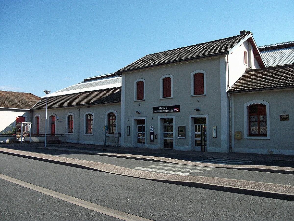 Gare de saint germain des foss s wikip dia for Garage ford st maur des fosses