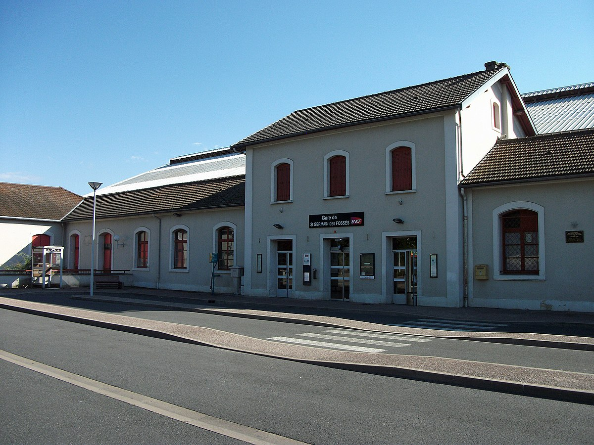 Gare de saint germain des foss s wikip dia for Garage de la gare bretigny