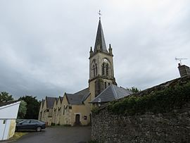 The church of Saint-Paul-le-Gaultier