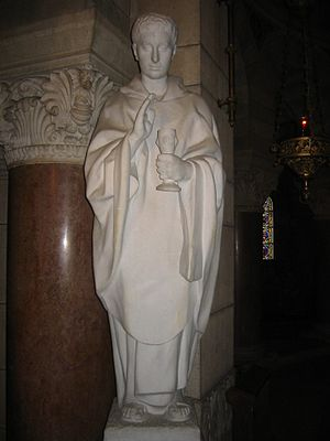 Roman Catholic Archdiocese of Besançon - A statue of Ferreolus.