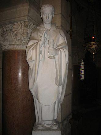 Roman Catholic Archdiocese of Besançon - A statue of Ferreolus.