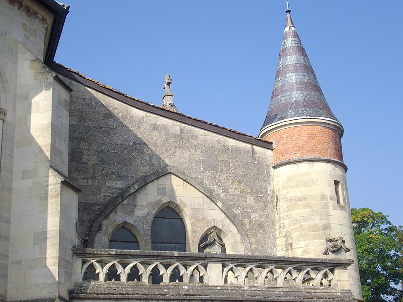 Our Lady church of Sainte-Menehould (Marne, France), detail
