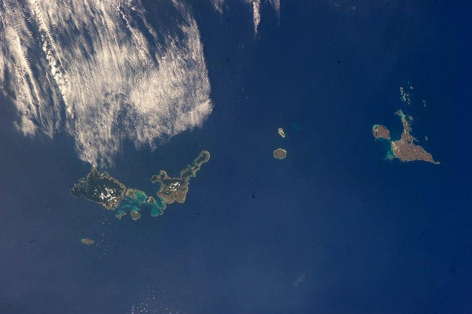 Sakishima Islands ISS039