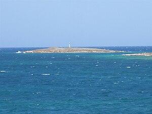 Saliagos - Saliagos islet