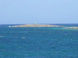 Saliagos island