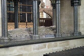Robert de Bingham - Bingham's tomb in Salisbury Cathedral