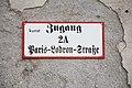 Salzburg - Altstadt - Paris-Lodron-Straße 2a - 2018 09 10 - Schild.jpg