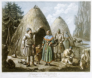 1795 in Sweden - Sami people in Härjedalen, Sweden (8539250322)