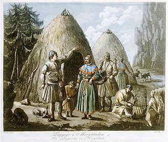 1795 in Sweden - Sami people in Härjedalen, Sweden (8539250322)