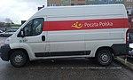 Samochód pocztowy Poczty Polskiej w 60-tysięcznym Tomaszowie Mazowieckim, w województwie łódzkim.jpg