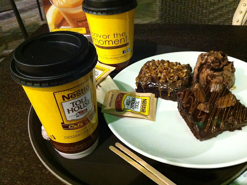 Samples of Nestle Toll House Cafe