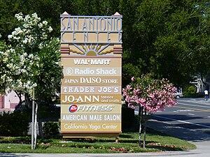 San Antonio Shopping Center - Sign at San Antonio Center