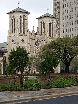 Roman Catholic Archdiocese of San Antonio - San Fernando Cathedral in San Antonio