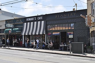 Sunset District, San Francisco - The commercial area on 9th Avenue and Irving Street has become a lively nightlife spot.
