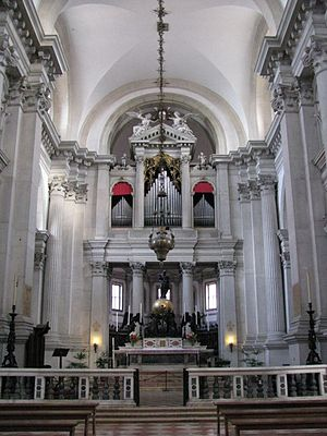 Girolamo Campagna - Main altar San Giorgio Maggiore