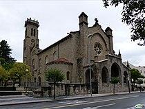 San Salbador eliza, Arrotxapea, Iruñea, Euskal Herria.jpg