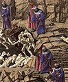 Sandro Botticelli - Inferno, Canto XVIII (detail) - WGA02855.jpg