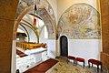 Sankt Georgen a L Lausdorf Pfarrkirche Mariae Himmelfahrt rom Chorturmquadrat 12032013 132.jpg